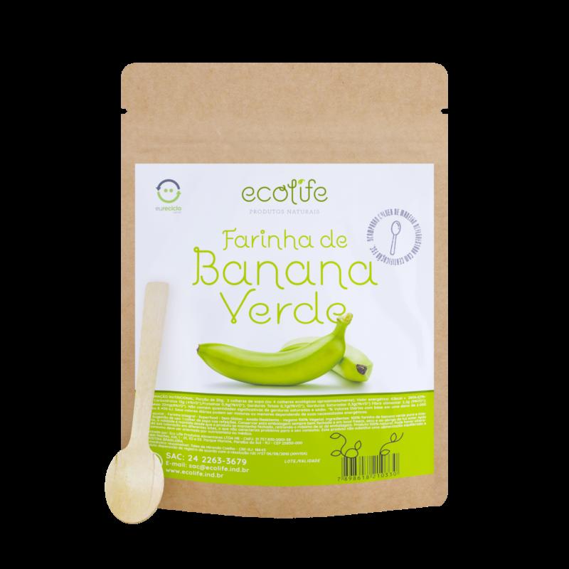 Farinha de Banana Verde Ecolife